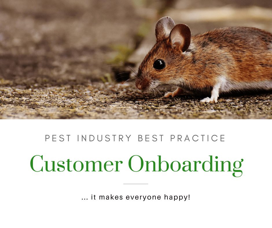 How to create an outstanding customer onboarding experience for your pest control company