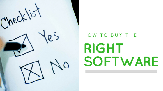 7 Simple Steps for Choosing the Right Software for Your Business