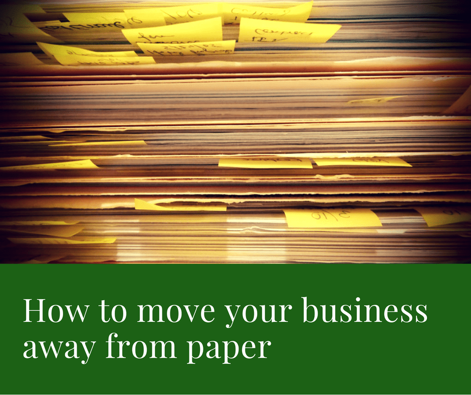 How to move your business away from paper