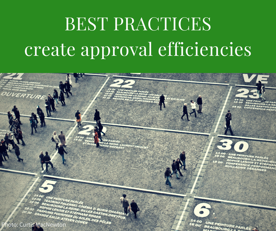 Best Practices Series – Creating Approval Efficiencies