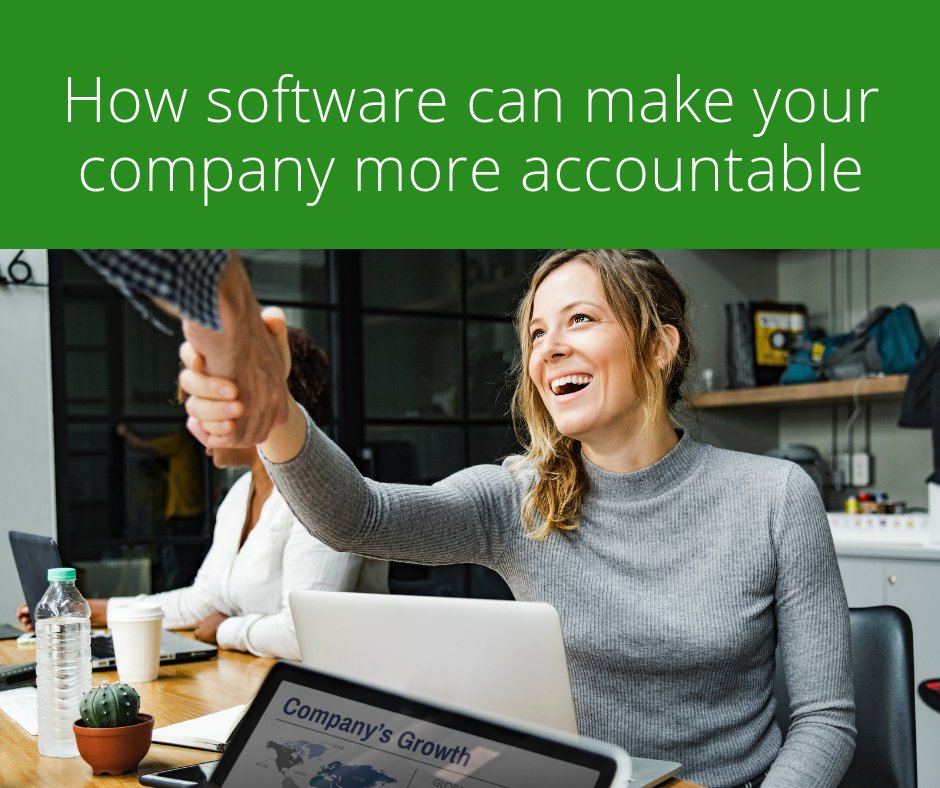 How software can make your company more accountable